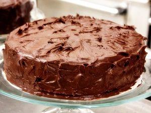 tarta de chocolate para cumpleaños