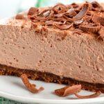 Tarta de chocolate sin horno fácil