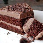 Tarta de chocolate y trufa fácil