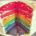 Tarta de Colores o Rainbow Cake