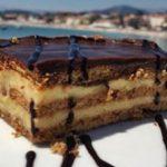 Tarta de Chocolate y Galletas Fácil